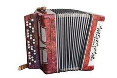 Μουσικό όργανο Bayan Στοκ Εικόνες