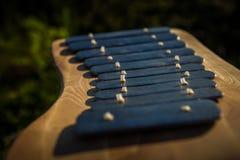 Μουσικό metalophone οργάνων στοκ φωτογραφία με δικαίωμα ελεύθερης χρήσης