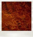 μουσικό polaroid Στοκ Εικόνα