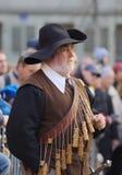 Μουσκετοφόρος σε Carnaval Escalade Στοκ Εικόνα