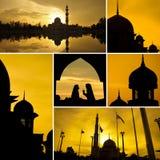 μουσουλμανικά τεμένη Στοκ εικόνα με δικαίωμα ελεύθερης χρήσης