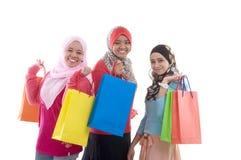 Μουσουλμανικές γυναίκες Στοκ φωτογραφίες με δικαίωμα ελεύθερης χρήσης