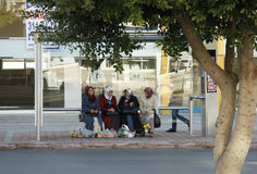 μουσουλμανικές περιμέν&omi στοκ φωτογραφία με δικαίωμα ελεύθερης χρήσης