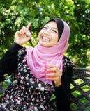 μουσουλμανικές όμορφε&sig Στοκ φωτογραφίες με δικαίωμα ελεύθερης χρήσης