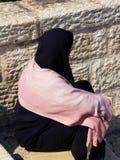 μουσουλμανική γυναίκα σκαλοπατιών Στοκ φωτογραφίες με δικαίωμα ελεύθερης χρήσης