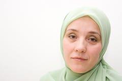 μουσουλμανική γυναίκα Στοκ εικόνα με δικαίωμα ελεύθερης χρήσης