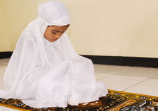 μουσουλμανική επίκλησ&eta Στοκ Φωτογραφίες