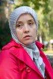 μουσουλμανική λυπημένη &gam Στοκ φωτογραφίες με δικαίωμα ελεύθερης χρήσης