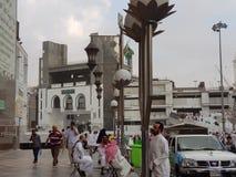 Μουσουλμανικό ιερό μουσουλμανικό τέμενος των Ηνωμένων Αραβικών Εμιράτων Στοκ Εικόνες