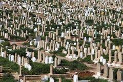 Μουσουλμανικό νεκροταφείο στοκ εικόνες