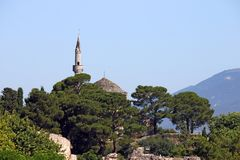 Μουσουλμανικό τέμενος Ιωάννινα πασάδων Aslan Στοκ Εικόνες