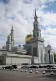 Μουσουλμανικό τέμενος καθεδρικών ναών της Μόσχας Το κύριο μουσουλμανικό τέμενος στη Μόσχα, ένας από το μεγαλύτερο στη Ρωσία και τ Στοκ φωτογραφίες με δικαίωμα ελεύθερης χρήσης