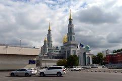 Μουσουλμανικό τέμενος καθεδρικών ναών της Μόσχας Το κύριο μουσουλμανικό τέμενος στη Μόσχα, ένας από το μεγαλύτερο στη Ρωσία και τ Στοκ φωτογραφία με δικαίωμα ελεύθερης χρήσης