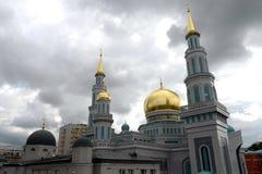 Μουσουλμανικό τέμενος καθεδρικών ναών της Μόσχας Το κύριο μουσουλμανικό τέμενος στη Μόσχα, ένας από το μεγαλύτερο στη Ρωσία και τ Στοκ Εικόνες