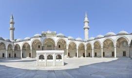 Μουσουλμανικό τέμενος Κωνσταντινούπολη Suleymaniye στοκ εικόνες με δικαίωμα ελεύθερης χρήσης