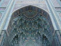μουσουλμανικό τέμενος μωσαϊκών Στοκ Εικόνες