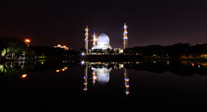 Μουσουλμανικό τέμενος πόλεων Alam Shah Στοκ Φωτογραφία