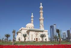 μουσουλμανικό τέμενος Σάρτζα πόλεων στοκ εικόνες