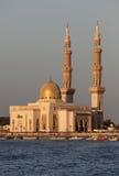 μουσουλμανικό τέμενος Σάρτζα πόλεων Στοκ φωτογραφία με δικαίωμα ελεύθερης χρήσης