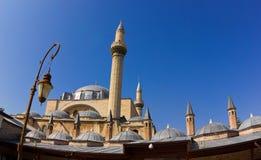 Μουσουλμανικό τέμενος σε Konya Στοκ εικόνες με δικαίωμα ελεύθερης χρήσης