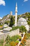 Μουσουλμανικό τέμενος σε Pocitelj, Βοσνία-Ερζεγοβίνη Στοκ Εικόνες