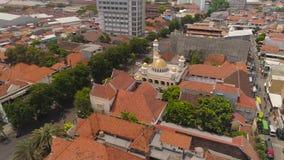 Μουσουλμανικό τέμενος στην Ινδονησία απόθεμα βίντεο