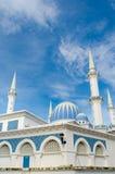 Μουσουλμανικό τέμενος στην κάθετη προοπτική Στοκ Εικόνα