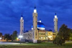 Μουσουλμανικό τέμενος στην πόλη Maykop στοκ εικόνα με δικαίωμα ελεύθερης χρήσης