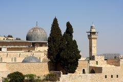 μουσουλμανικό τέμενος της Ιερουσαλήμ aqsa Al Στοκ εικόνα με δικαίωμα ελεύθερης χρήσης