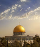 μουσουλμανικό τέμενος της Ιερουσαλήμ aqsa Al Στοκ εικόνες με δικαίωμα ελεύθερης χρήσης