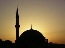 μουσουλμανικό τέμενος της Κωνσταντινούπολης Στοκ εικόνες με δικαίωμα ελεύθερης χρήσης