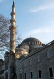 μουσουλμανικό τέμενος της Κωνσταντινούπολης suleymaniye Στοκ Φωτογραφίες