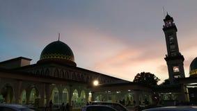Μουσουλμανικό τέμενος της Μαλαισίας στοκ φωτογραφία με δικαίωμα ελεύθερης χρήσης