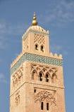 μουσουλμανικό τέμενος του Μαρακές koutoubia Στοκ Φωτογραφίες
