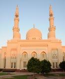 μουσουλμανικό τέμενος του Ντουμπάι jumeirah Στοκ φωτογραφία με δικαίωμα ελεύθερης χρήσης