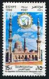 Μουσουλμανικό τέμενος του Ahmed Badawy Sayd Στοκ εικόνα με δικαίωμα ελεύθερης χρήσης