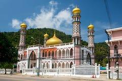 Μουσουλμανικό τέμενος AO Nang Στοκ εικόνες με δικαίωμα ελεύθερης χρήσης