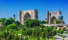 Μουσουλμανικό τέμενος bibi-Khanym στο Σάμαρκαντ, Ουζμπεκιστάν στοκ φωτογραφίες με δικαίωμα ελεύθερης χρήσης