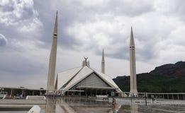 Μουσουλμανικό τέμενος Faisal, Πακιστάν Στοκ Εικόνες