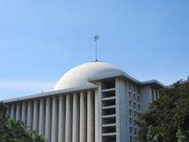 Μουσουλμανικό τέμενος Istiqlal, Τζακάρτα στοκ εικόνα με δικαίωμα ελεύθερης χρήσης