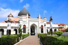 Μουσουλμανικό τέμενος Keling Kapitan, Τζωρτζτάουν, νησί Penang, Μαλαισία στοκ εικόνες
