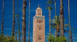 Μουσουλμανικό τέμενος Kutubijja, Μαρακές 2 Στοκ φωτογραφία με δικαίωμα ελεύθερης χρήσης