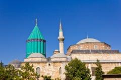 μουσουλμανικό τέμενος mevlana στοκ εικόνες με δικαίωμα ελεύθερης χρήσης