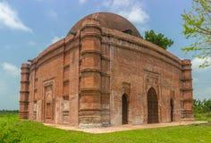 Μουσουλμανικό τέμενος Nungola, Barobazar, Jhenaidah, Μπανγκλαντές στοκ φωτογραφία με δικαίωμα ελεύθερης χρήσης