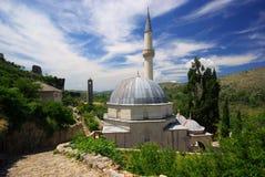 Μουσουλμανικό τέμενος Pocitelj Στοκ εικόνα με δικαίωμα ελεύθερης χρήσης