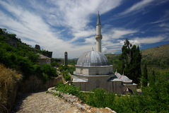 Μουσουλμανικό τέμενος Pocitelj Στοκ Φωτογραφίες