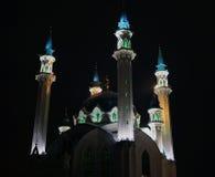Μουσουλμανικό τέμενος QolÅärif Kazan στην πόλη Στοκ Εικόνες