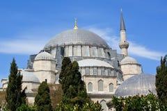 Μουσουλμανικό τέμενος Suleymanye Στοκ Φωτογραφία