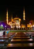 Μουσουλμανικό τέμενος Sultanahmet Στοκ φωτογραφία με δικαίωμα ελεύθερης χρήσης