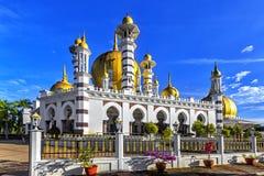 Μουσουλμανικό τέμενος Ubudiah στην Κουάλα Kangsar, Μαλαισία Στοκ Φωτογραφίες